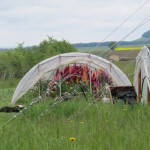 Spring hoophouse